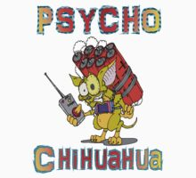 Psycho  Chihuahua Kids Clothes