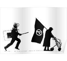 Police & Granny Poster