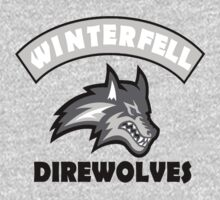 Winterfell Direwolves by LastLaughInk