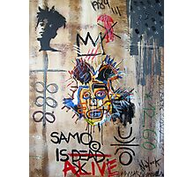 In memory Basquiat Photographic Print