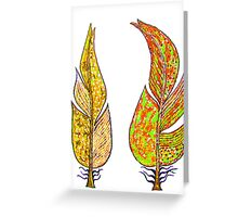 Friendship feather2 Greeting Card