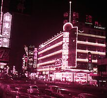 Neon-light in the 50s by Timeview