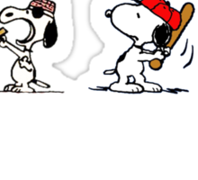 Snoopy - All characters Sticker