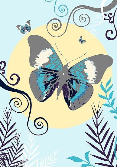 Butterflies in the day by Adamzworld