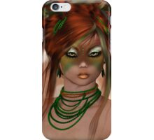 Crazy Elf Girl iPhone Case/Skin