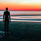 Anthony Gormley's Iron Men, Crosby Beach, Merseyside by George Standen