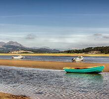 Borth -Y - Gest, North Wales by George Standen