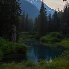 Fish Creek Meditation Place by Ken McElroy
