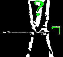 Riddler High Contrast by justin13art