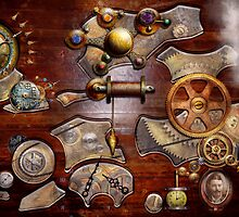 Steampunk - Gears - Reverse engineering by Mike  Savad