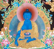 Medicine Buddha Thangka by thangka