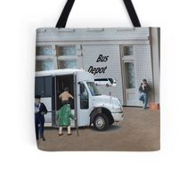 When the bus driver yelled out, 'time to get loaded' Dudley completely misunderstood. Tote Bag