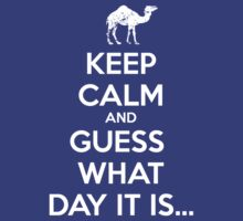 Keep Calm and Guess What Day It Is... by WickedCool