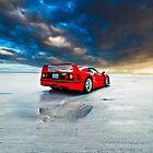 Ferrari F40 | Sunrise by Gil Folk