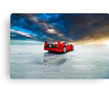 Ferrari F40 | Sunrise Canvas Print