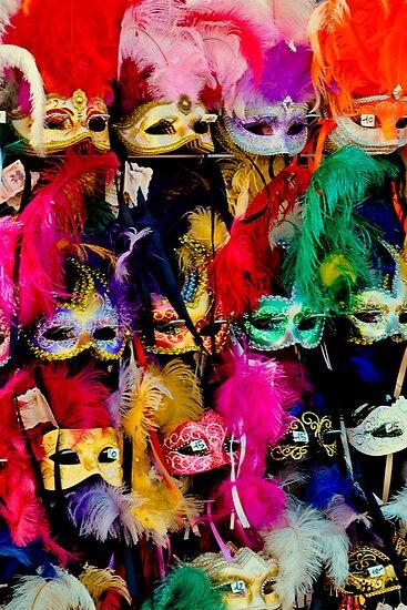Venice Carnival Masks by Thomas Barker-Detwiler