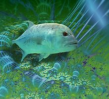 Swim in the green garden. by art-ZeST