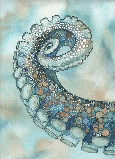 Octopus Tentacle Arm by Tamara Phillips