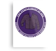 The Purple Shirt Metal Print