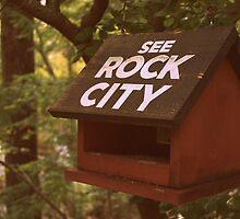 Sepia Bird House Advert by PeaceLoveHike