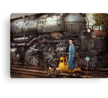 Locomotive - The gandy dancer  Canvas Print