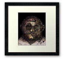 Huka man Framed Print