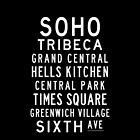 "Subway Sign Art ""SOHO"" by Subwaysign"