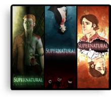Supernatural Boys Print Canvas Print