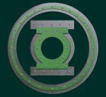 Steel green lantern by nick94