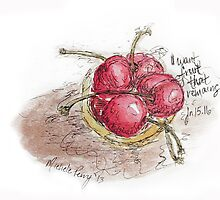Summer Cherries by Michele Perry