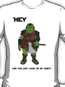Space Guard Up Skirt Peek T-Shirt