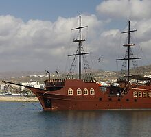 Pirate Galleon - Rethymno by Francis Drake