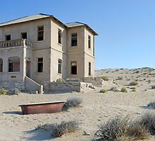 A Time Gone By - Kolmanskop Namibia by Beth  Wode