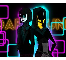 Daft Punk- Mass Effect Photographic Print