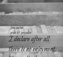 Jane Austen Reading by Kimberose