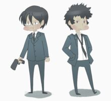 PSYCHO-PASS / Gino & Kogami by ZeonAce