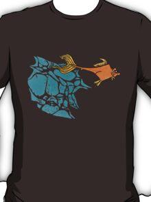 Goldfish Illustration Print T-Shirt