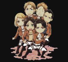 Attack on titans chibi by VirtualMan