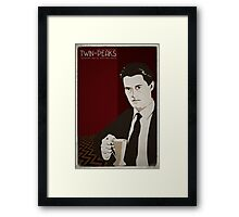 Twin Peaks - Dale Cooper Framed Print