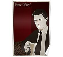 Twin Peaks - Dale Cooper Poster