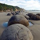 The Moeraki Boulders by milena boeva