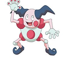 Mr. Mime by linwatchorn
