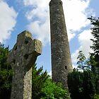 Round Tower, Glendalough by Simon Bowen