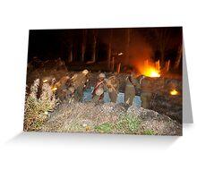 Trench Warfare Greeting Card