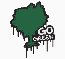 Go Green Graffiti by Style-O-Mat
