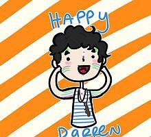 Happy Darren by saltyblack