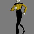 Lt Commander Data by IssuesAndDrama