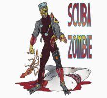 Scuba Zombie by Skree