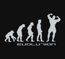Evolution - body building by waqqas