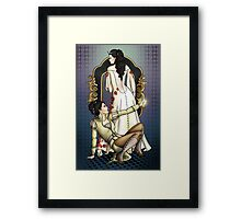 The Rebel and the Ice Queen Framed Print
